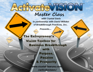 Activate Vision Master Class with David