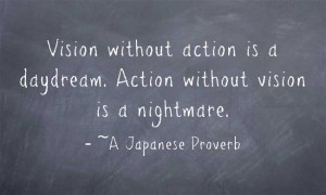 Vision-without-action-is